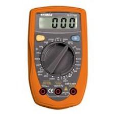 Handhållen Digital Multimeter, Manuell skala, 3,5-siffrig